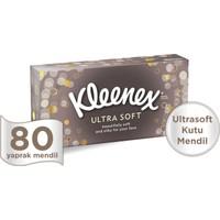 Kleenex Ultrasoft Kutu Mendil 80 Yaprak