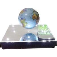 Acayipşeyler Sihirli Dünya Havada Dönen Küre 8 Ledli Levitating Globe Açık Mavi