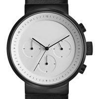 Projects Watches Kiura White Leather Kol Saati