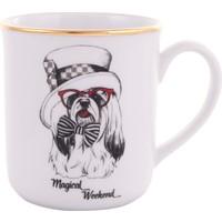 Köpek Figürlü Kupa-Magical weekend- Kupa