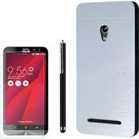 Gpack Asus Zenfone 5 Kılıf Sert Arka Kapak Motomo +Kalem + Cam