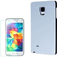 Gpack Samsung Galaxy S5 Mini Kılıf Sert Arka Kapak Motomo + Kırılmaz Cam