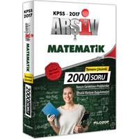 Filozof Yayınları Kpss 2017 Arşiv Matematik Tamamı Çözümlü 2000 Soru Bankası