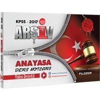 Filozof Yayıncılık Kpss 2017 Arşiv Anayasa Video Ders Notları