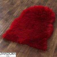 Kırmızı Post Halı - 90x145 cm