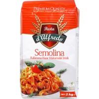 Pasta D'Alfredo Semolina Makarnalık İrmik 2 kg