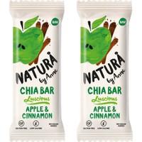 Natura By Anne Apple & Cinnamon Chia Bar 2 x 38 gr