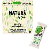 Natura By Anne Apple & Cinnamon Chia Bar Box 12 x 38 gr
