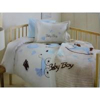 Özdilek Baby Boy Vizon Bebek Battaniyesi Erkek Bebek