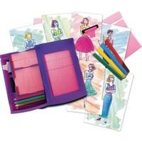 Bundera Kız Çocuklarınız İçin Eğitici Elbise Tasarım Seti Fashion Studio