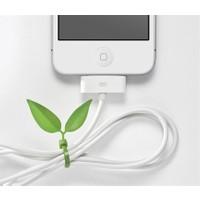 Bundera Yaprak Şeklinde Kablo Sabitleyici 12 Adet Birden