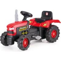 Dolu Pedallı Kırmızı Traktör
