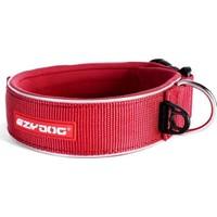 Ezydog Neo Classic Wide Büyük Köpekler İçin Geniş Boyun Tasması 3XL Kırmızı