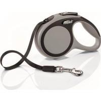 Flexi New Comfort 5M Şerit M Otomatik Köpek Gezdirme Tasması Gri