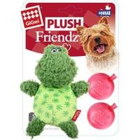 Gigwi 6226 Plush Friendz Sesli Kurbağa Köpek Oyuncağı