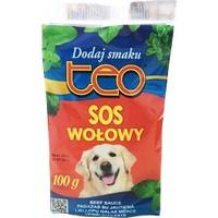 Teo Pouch Seçici Köpekler İçin Lezzet Arttırıcı Mama Sosu Biftekli 100 Gr