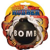 Tuffy Rugged Rubber Bomba Köpek Oyuncağı (Medium)