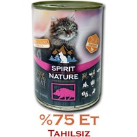 Spirit Of Nature Domuz Etli Kedi Konservesi 415 Gr