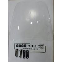 Motospartan Siperlik Camı Küçük Boy 44Cm X 42Cm 3Mm Spacy110 Fızy125 Actıva100