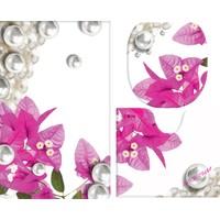 Melay Bodrum İncisi Banyo Paspas Üçlü Set