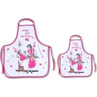 Melay Anne Kız Mutfak Önlüğü