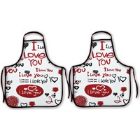 Melay I Love You Mutfak Önlüğü
