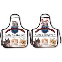 Melay Tatlı Kedilerimle Mutfakta Mutfak Önlüğü