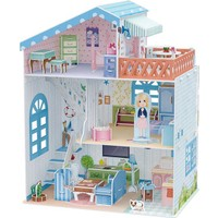 Cubic Fun 3D Puzzle 112 Parça Sahil Evi