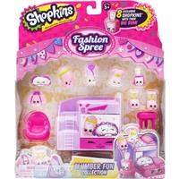Shopkins Cicibiciler Moda Şöleni Slumber Fun Oyun Seti