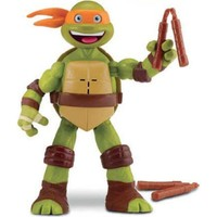 Ninja Kaplumbağalar Mikey Salla Sesli Figür 15 Cm