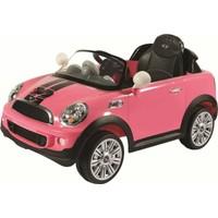 Sunny Baby W456Qht Mını Cooper S Coupe Pembe Akülü Araba