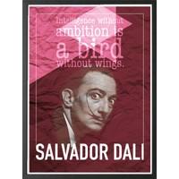 decArtHOME Salvador Dali E Çerçeve (30 x 40 cm)
