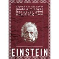 decArtHOME Albert Einstein D Poster (30 x 42 cm)