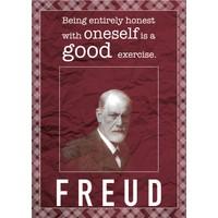 decArtHOME Sigmund Freud D Poster (30 x 42 cm)