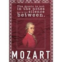 decArtHOME Mozart D Poster (30 x 42 cm)