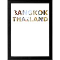 decArtHOME Bangkok Anı Çerçevesi (30 x 40 cm Siyah)