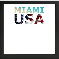 decArtHOME Miamii Anı Çerçevesi (23 x 23 cm Siyah)