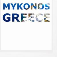 decArtHOME Mikanos Anı Çerçevesi (23 x 23 cm Beyaz)