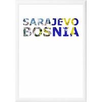 decArtHOME Saraybosna Anı Çerçevesi (21 x 30 cm Beyaz)