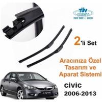 Honda Civic 2006-2013 Araca Özel Silecek Takımları (Sağ-Sol)