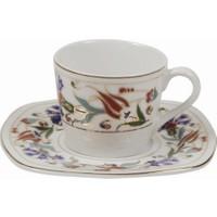Cutechef Kitchen Porselen Arabesk Kahve Takımı