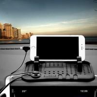 Carspeed Suit Silikon Araç Telefon Tutucu - Şarj Standı Kaymaz Mat Ped