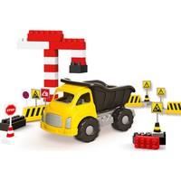 Dolu Jumbo Traktör ve Blok