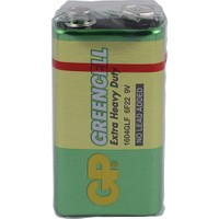 Gp 1604G Greencell 9V Manganez Pil Shrink