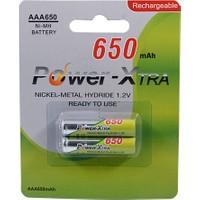 Power-Xtra 1.2V Ni-Mh Aaa 650 Mah Ready2Use Pil 2Li Blister