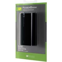 Gp Gp1C05Abe-2Fb1 Powerbank Li-İon 5200 Mah Harici Batarya Siyah
