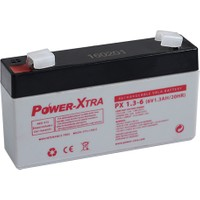 Power-Xtra 6V 1.3 Ah Bakımsız Kuru Akü