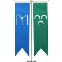 Ekin Bayrakçılık Kayı Boyu Ve Osmanlı Üç Hilal Masa Bayrak Takımı