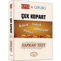 Yediiklim Yayınları Kpss-A Grubu Çek Kopart Yaprak Test (Maliye- Muhasebe- Hukuk-İktisat)
