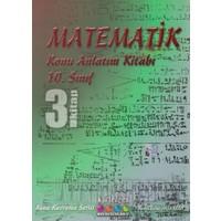 Kartezyen Eğitim Yayınları 10. Sınıf Matematik Konu Anlatım Kitabı 3
